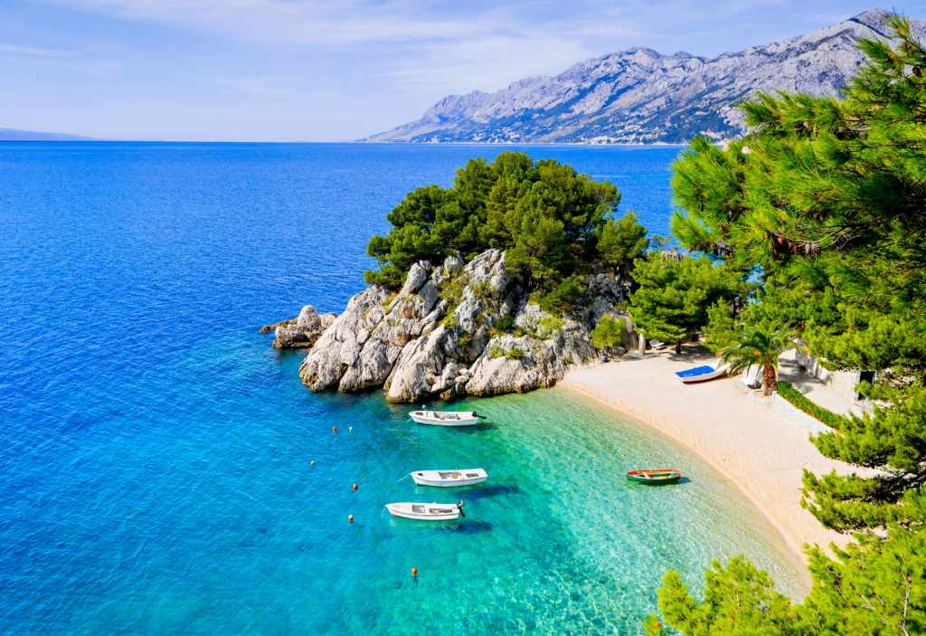 most beautiful beaches Croatia